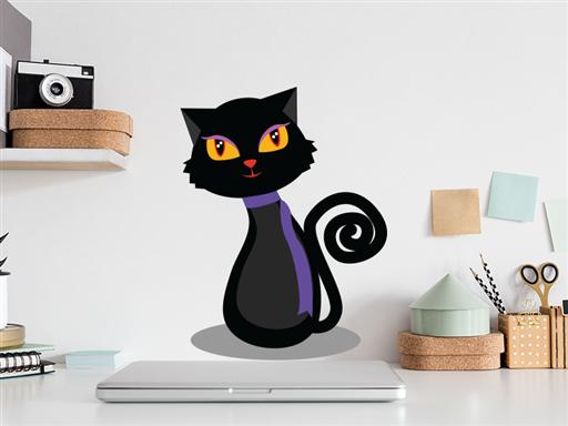 černá kočička 4 u úžasné triky vyfukování